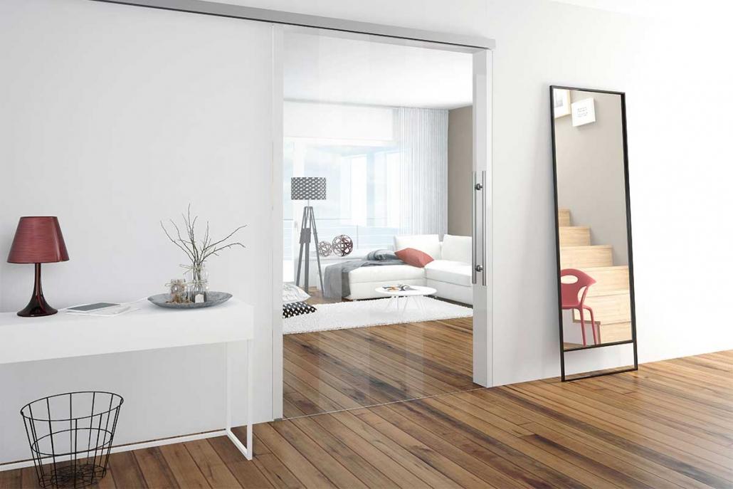 Türen und Trennwände aus Glas